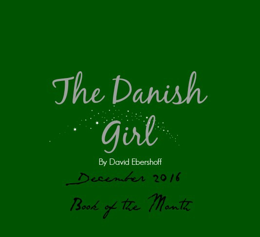 The Danish Girl: December 2016 Muggle Book of the Month